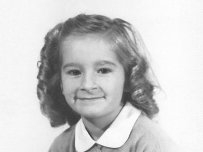 Sherry Wilde as a child